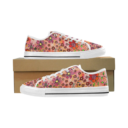 Allegro Women's Low Top Casual Shoes Sneakers Flats Women's Low Top Shoes, Canvas Casual Shoes
