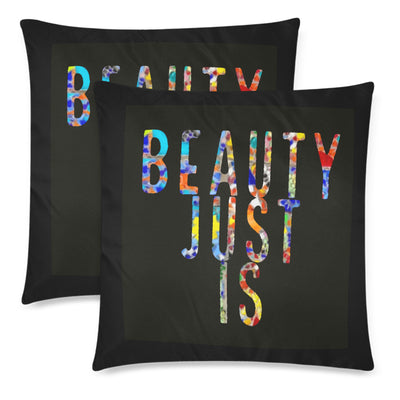 Beauty Just Is Throw Pillow Covers 18