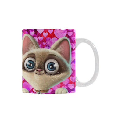 Kitten Lilly I Love You ClassicWhite Mug