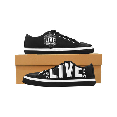 Love the Live You Live Women's Low Top Shoes, Canvas Casual Shoes