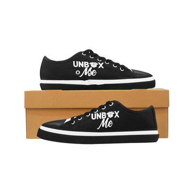 Unbox Me Women's Low Top Shoes, Canvas Casual Shoes
