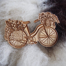 Flower Bike Magnet