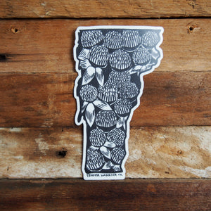 Vermont Red Clover Sticker
