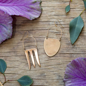 Andrea Spoon and Fork Earrings