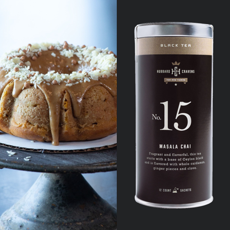 Coffee Cake of the Month & Tea Upgrade (October 2020)