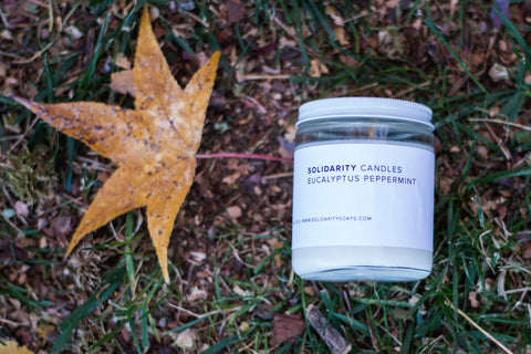 Eucalyptus Peppermint Candle