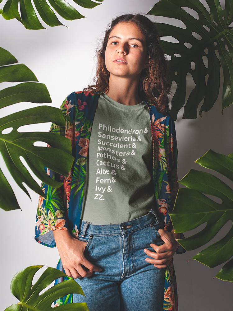 Houseplant List Tee