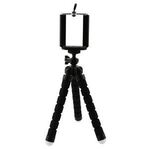 Phone Tripod - Flexible, Portable and Adjustable Camera Holder for iPhone, Android, Samsung