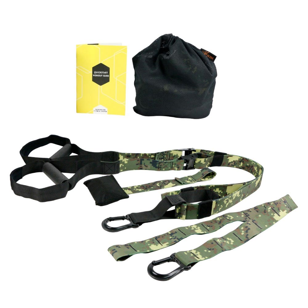 Suspension System - 4 Colors Available - Includes Suspension Straps, Utility Strap, Door Anchor and Carrying Bag
