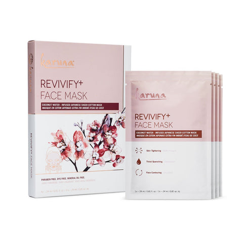 Karuna Revivify + Face Mask 4-Pack