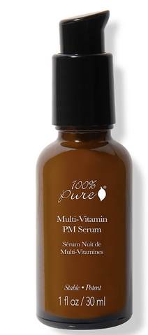 100% Pure: Multi-Vitamin + Antioxidant Potent PM Serum 1fl oz