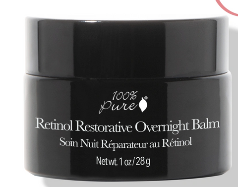 100% Pure: Retinol Restorative Overnight Balm 1oz
