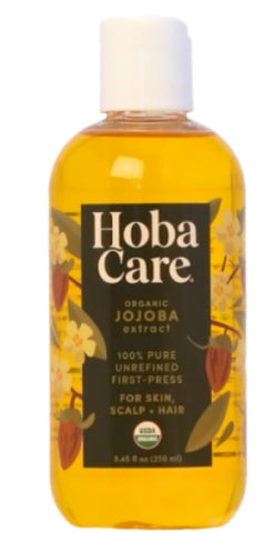 Hoba Care Jojoba Oil 100% Organic 8 fl. oz