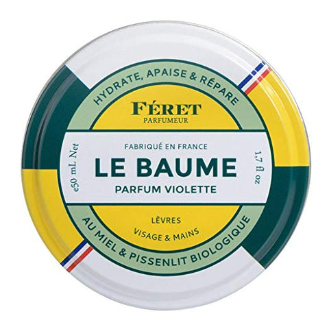 Feret Parfumeur Le Baume Violette Face & Lip Blam 50ml (All Natural)