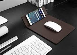 Built in Qi Charger in a Mouse Pad