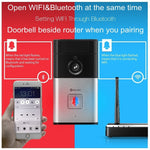 Digoo WIFI DoorBell Video Door Camera with Alarm Night Vision Home Security (Size 2)