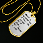 Best Daddy Pendant Tag