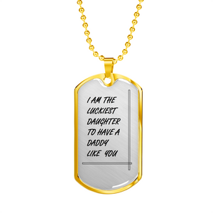Best Dad Dog Tag Pendant - Gift for your Dad