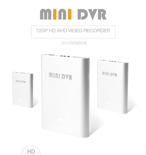 Super Mini AHD DVR Recorder HD 720P Support SD Card 256GB Real time 1Ch CCTV DVR
