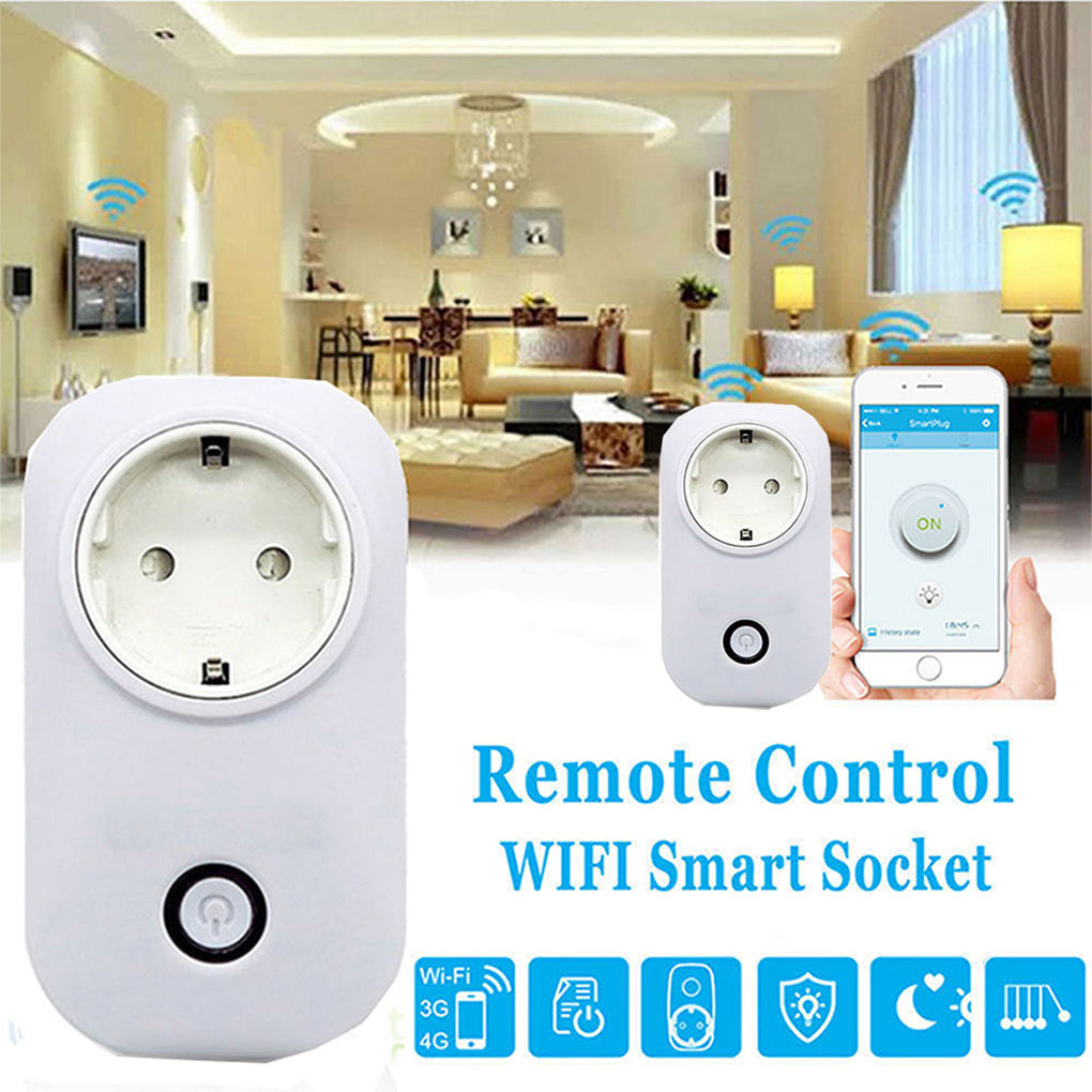 Wireless Smart Home Charging Adapter Power Socket Switch for home automation