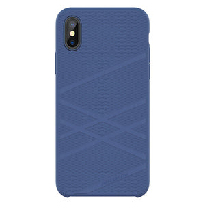 Original NILLKIN Liquid Silicone Back Case For iPhone X Ultra Thin Soft Gel Rubber