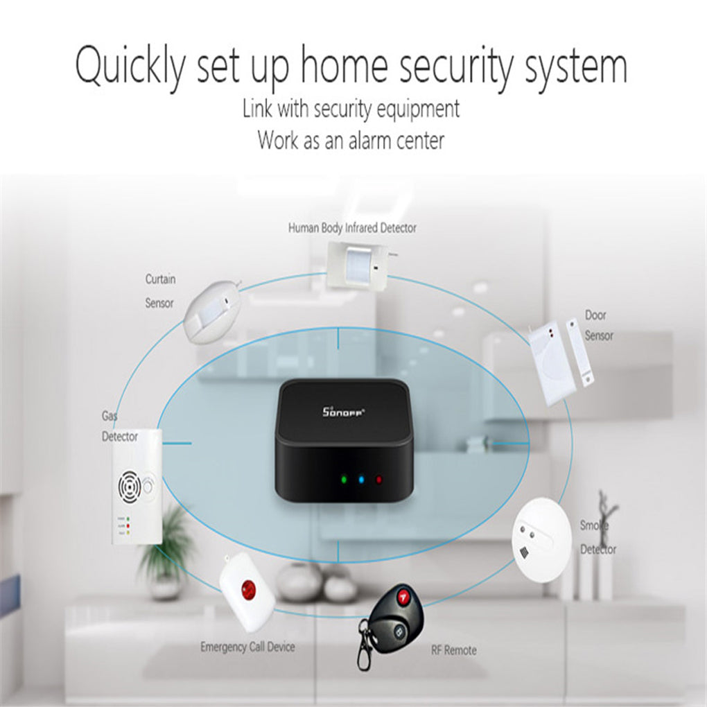 Wireless Dual Infrared detector Motion Sensor PIR  for smart Home Automation Security Alarm System compatible with Alexa Google Home