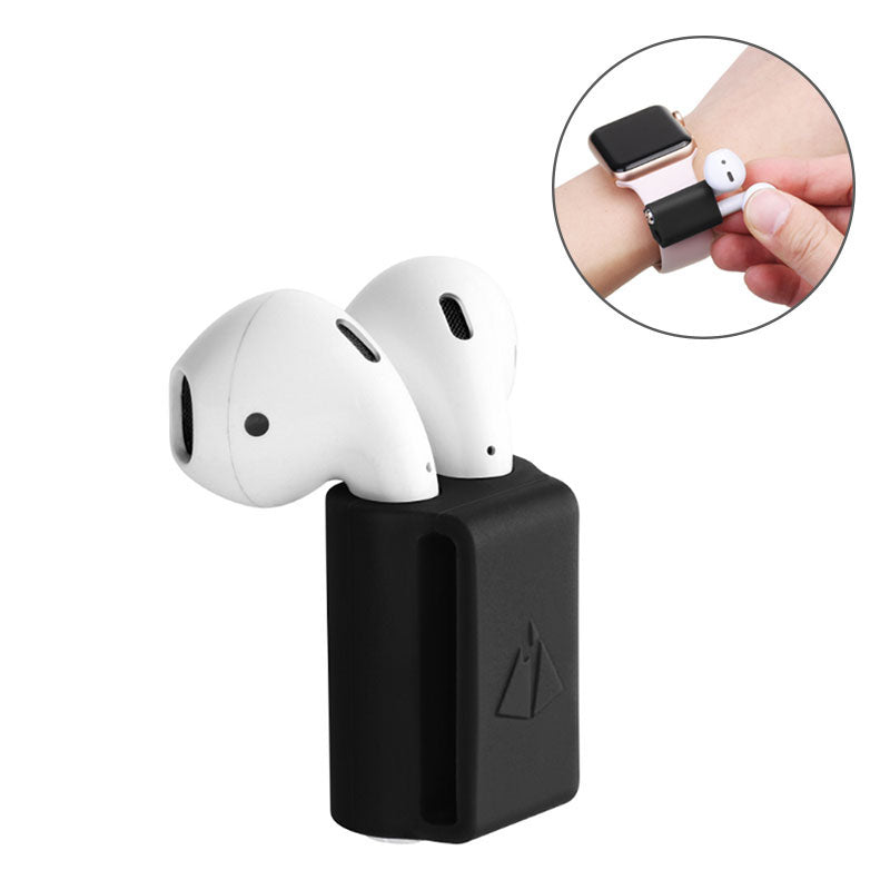 AirPods Holder Portable Anti-lost Strap Silicone Case for Apple AirPod