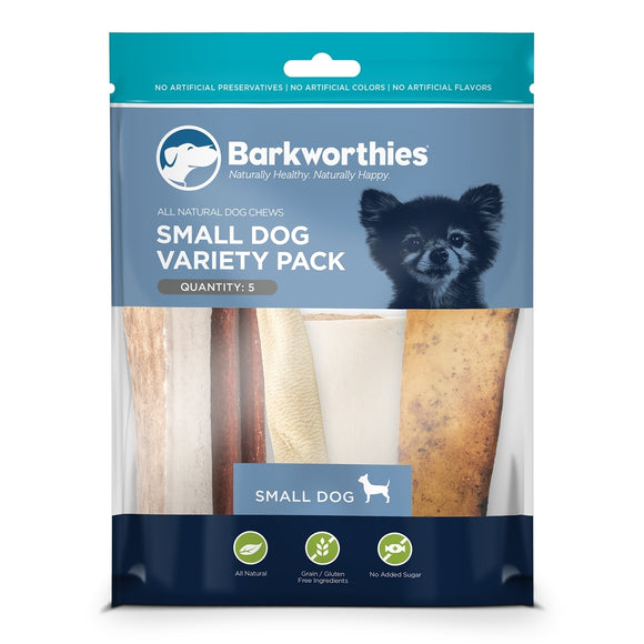 Barkworthies Small Dog Variety Pack - 5ct