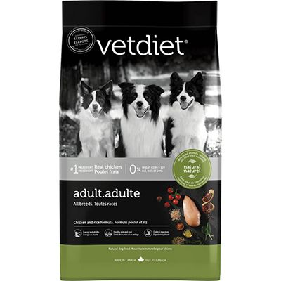 Vetdiet Adult Chicken and Rice (6-30lb)