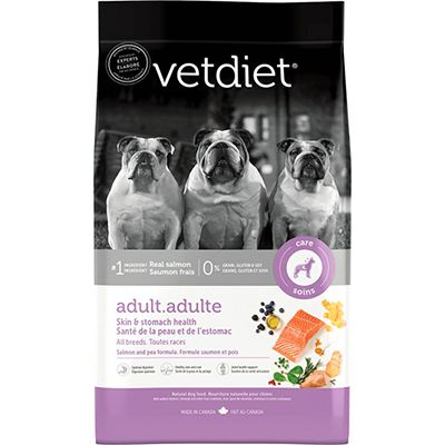 Vetdiet Adult Skin & Stomach Health Salmon (6-26lb)