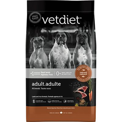 Vetdiet Adult Lamb and Rice (6-26lb)