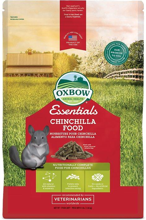 Oxbow Essentials Deluxe Chinchilla Food 3 lb