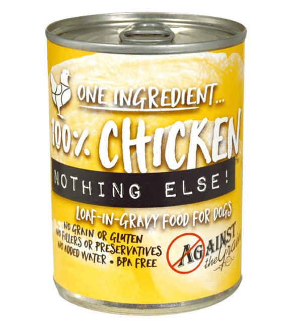 Against the Grain Nothing Else Chicken Grain-Free Canned Dog Food 11oz