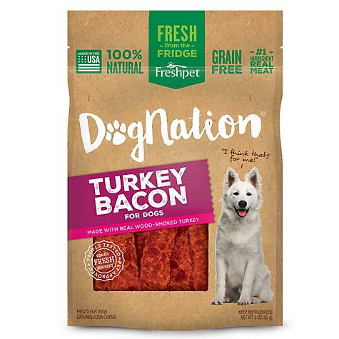 Freshpet Dognation® Turkey Bacon 3oz (Must Be Home 1-9PM)