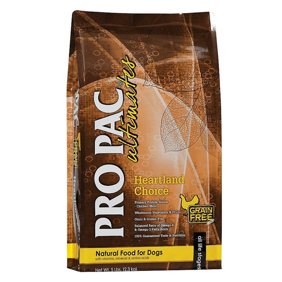 Pro Pac Ultimates Heartland Choice Chicken & Potato Grain-Free Dry Dog Food 28lb