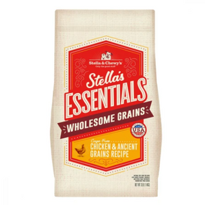 Stella & Chewy's Essentials Ancient Grains Cage-Free Chicken Dog Food (3lb, 25lb)