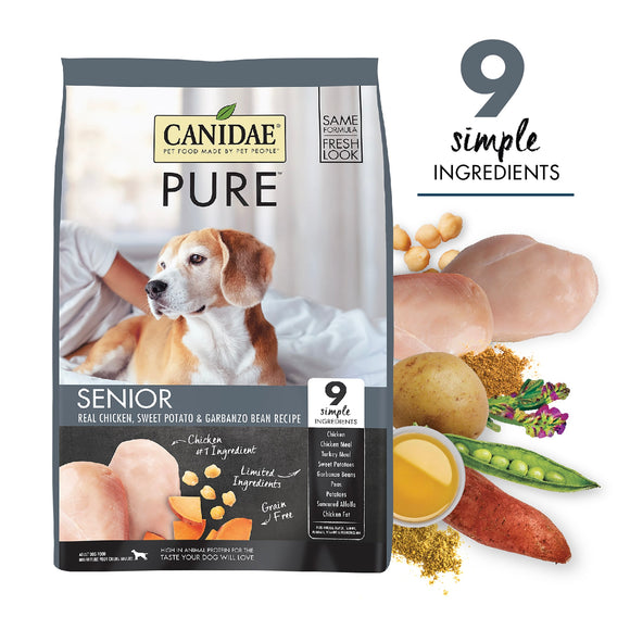 CANIDAE PURE Meadow Grain Free Senior 4lb