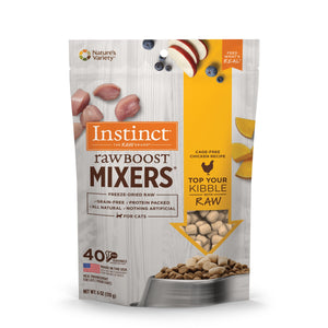 Nature's Variety Instinct Cat Freeze-Dried Raw Boost Mixers Chicken 6oz