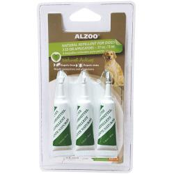 Alzoo Natural Repellent For Dogs EZ-ON Applicators - 3 Pack