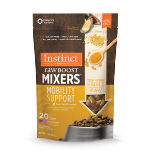 Nature's Variety Instinct Freeze-Dried Raw Boost Mixers Mobility 5.5oz