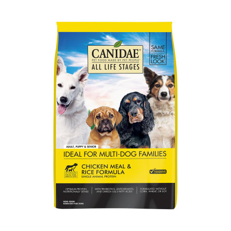 CANIDAE All Life Stages Chicken Meal & Rice Formula Dry Dog Food (15lb, 30lb)