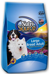 Nutrisource Large Breed Adult Chicken & Rice Dry Dog Food 30lb