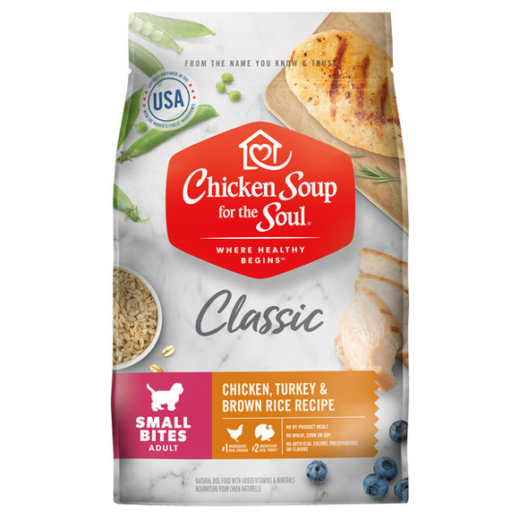 Chicken Soup Small Bites Dog Food (4.5lb-28lb)