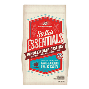 Stella & Chewy's Essentials Ancient Grains Grass-Fed Lamb Dog Food (3lb, 25lb)