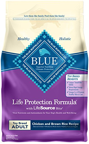 Blue Buffalo Life Protection Toy Breed Adult Chicken & Brown Rice Dry Dog Food 4lb