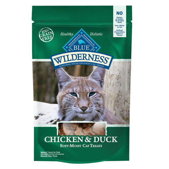 Blue Buffalo Blue Wilderness Chicken & Duck Cat Treats 2oz