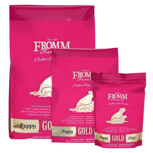Fromm Gold Puppy Chicken Dog Food (15lb, 33lb)