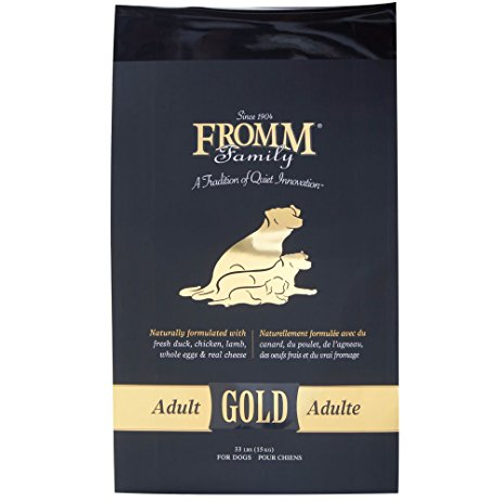 Fromm Gold Adult Chicken Dog Food (5lb, 15lb, 33lb)