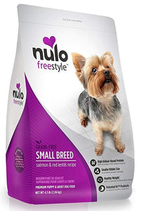 Nulo FreeStyle Grain Free Small Breed Salmon & Red Lentils (4.5lb - 11lb)