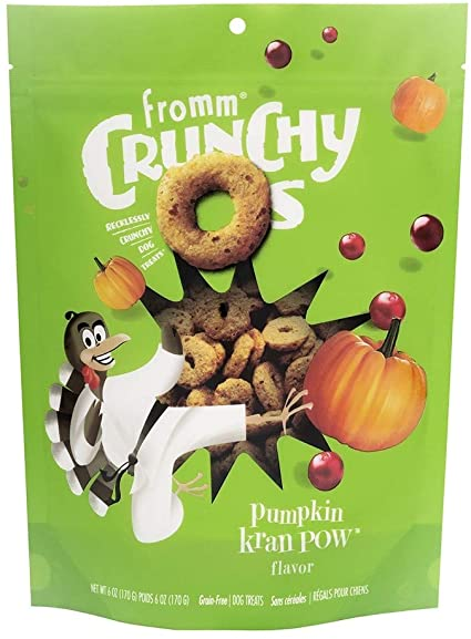 Fromm Crunchy O's Dog Treats - Pumpkin